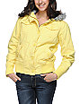 Empyre Cicada Buttercup Yellow Bomber Jacket