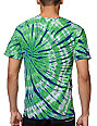 Empyre Eagles Green & Blue Tie Dye T-Shirt