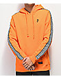 Empyre Final Lap Orange & Checkered Hoodie