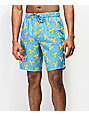 Empyre Grom Banana Blue Board Shorts