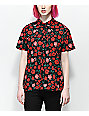 Empyre Hilo Roses Sleeve Button Up Shirt