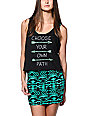 Empyre Lydia Choose Your Own Path Black Tank Top