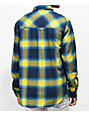 Empyre Marky Blue & Yellow Flannel Shirt