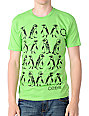 Empyre Penguins Green T-Shirt