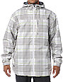 Empyre Ranger White Plaid 10K Snowboard Jacket