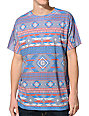 Empyre Salish Grey & Tribal Print Sublimated T-Shirt