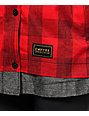 Empyre Traverse Red Plaid Jacket