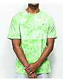 Empyre Two Faced Green Tie Dye T-Shirt