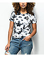 Empyre Yohanna Low Key Black Tie Dye T-Shirt