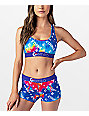 Ethika Lucent Rainbow Sports Bra