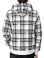 Etnies Fat City White Plaid Sherpa Hoodie