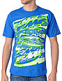 FMF Single File Blue T-Shirt