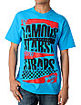 Famous Stars & Straps Damage Teal T-Shirt
