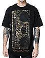 Famous Stars & Straps x Yelawolf Lets Roll Camo Black T-Shirt