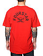 Fourstar Pirate Arch Red T-Shirt