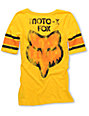 Fox Moto-X Yellow Football T-Shirt