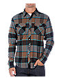 Fox Ozzwald Brown Flannel Shirt