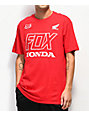 Fox x Honda Red T-Shirt
