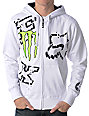 Fox x Monster Energy Ricky Carmichael Downfall White Hoodie
