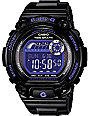 G-Shock BLX100-1B Baby-G Black & Purple Watch