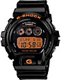 G-Shock GW6900B-1 Solar Atomic Black & Orange Watch
