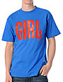Girl Big Girl Blue & Red T-Shirt