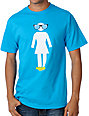 Girl Crail-Equals-D Mikemo Turquoise T-Shirt