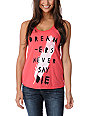 Glamour Kills Never Say Die Red Tank Top