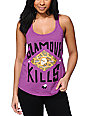 Glamour Kills OG Is Dead Cheetah Plum Tank Top