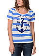 Glamour Kills The Union Blue & White T-Shirt