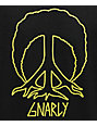 Gnarly Peace Tree Black & Yellow T-Shirt