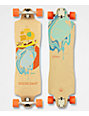 "Gold Coast Flores 1 38"" Drop Through Longboard Complete"