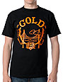 Gold Wheels Lifted Black T-Shirt