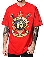 Gold Wheels Real Gs Red T-Shirt