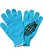 Grenade Crypt Blue Knit Gloves