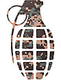 Grenade Digi Camo Die Cut Sticker