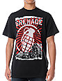 Grenade Horizon Black T-Shirt