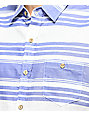Grizzly Peninsula Periwinkle & White Button Up Shirt
