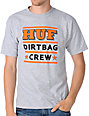 HUF 3 Stack Heather Grey T-Shirt