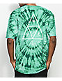 HUF Wash Triple Triangle Teal T-Shirt