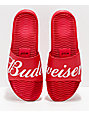 HUF x Budweiser Red Slide Sandals