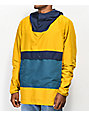Herschel Supply Co. Voyage chaqueta anorak amarillo y azul