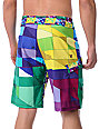 Hurley Geo Phantom 60 Green Board Shorts