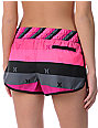 Hurley Pink Super Suede Beachrider Board Shorts