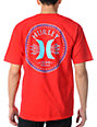 Hurley Time Stretch Red T-Shirt