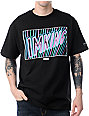 IMKing Neon Sign Black T-Shirt