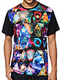 Imaginary Foundation Equilateral Panel Black Sublimation T-Shirt