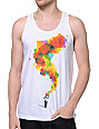 Imaginary Foundation Looking Glass White Tank Top
