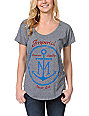 Imperial Motion Anchor Monogram Heather Grey T-Shirt