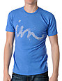 Imperial Motion Curser Speckle Royal T-Shirt